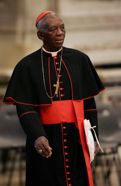 Cardinal Bernard Agre' of Ivory Coast  a