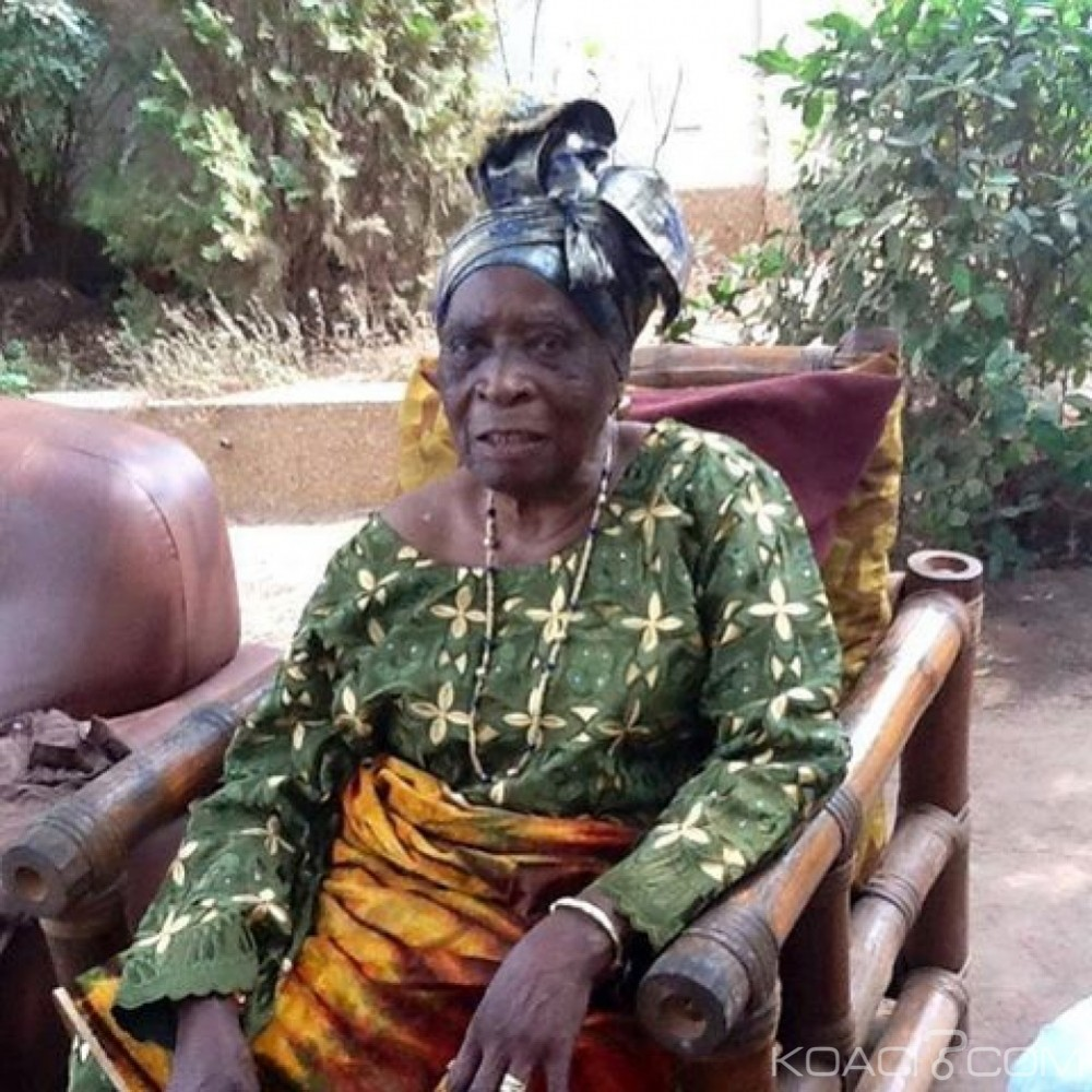 Dame Marguerite Gado, mère de Laurent Gbagbo