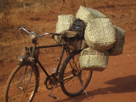 Vélo traditionnel africain